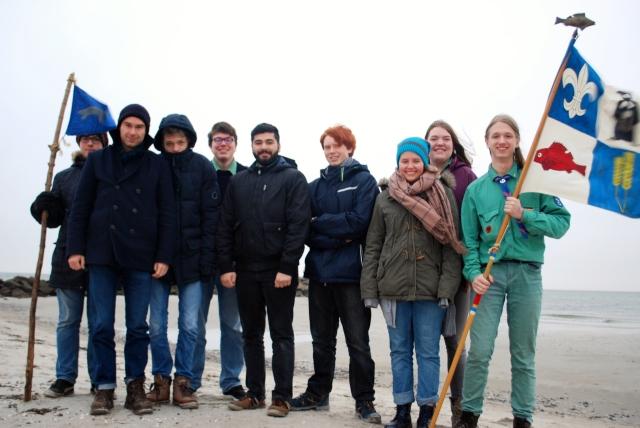 Gruppenbild Kammmolche November 2016